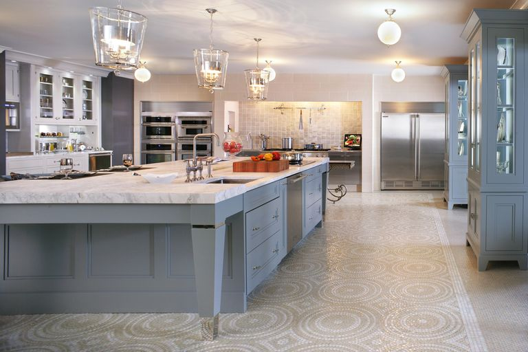 A new york gray kitchen design