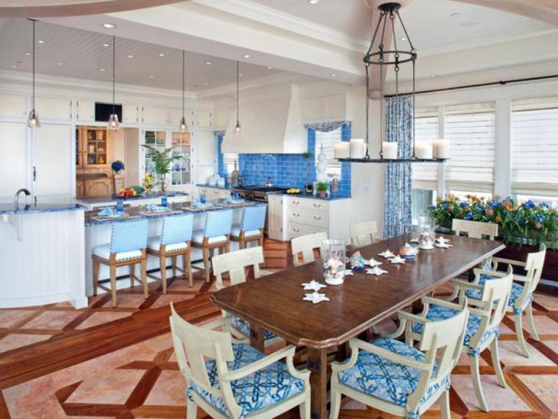 Coastal kitchen styles