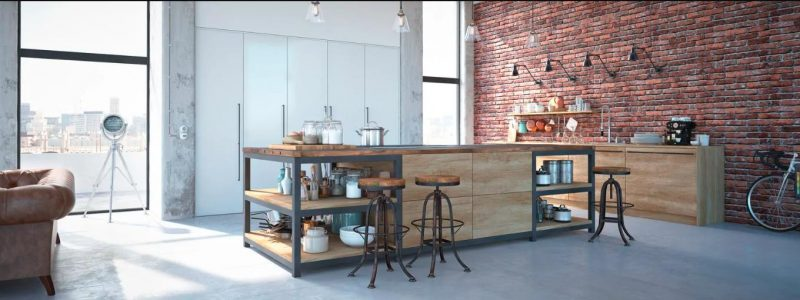 Industrial-style-kitchens from china
