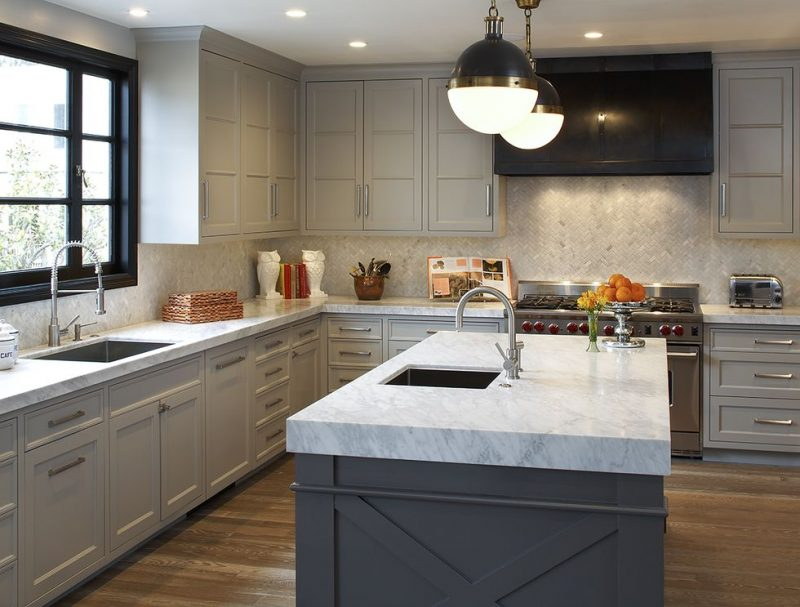 Muted and Contemporary kitchen styles