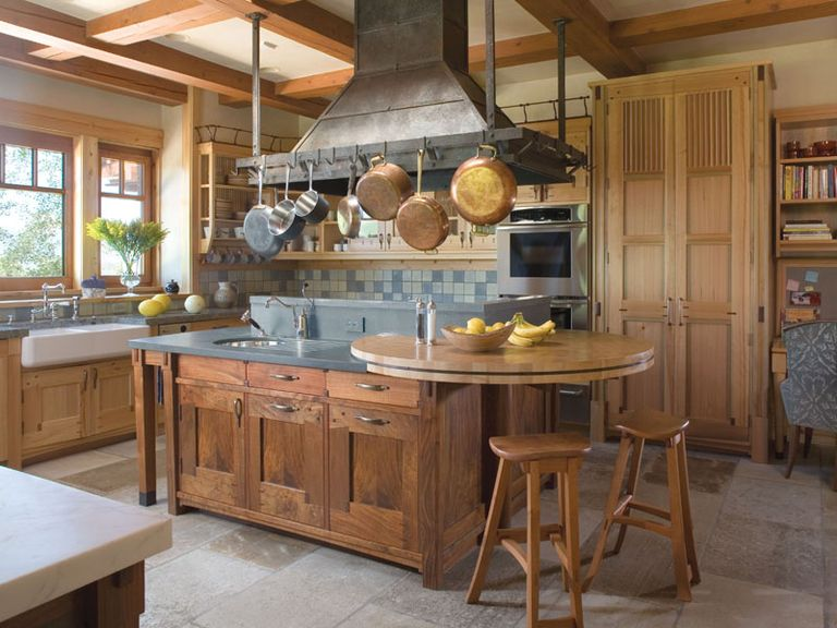Rustic fashion kitchen design