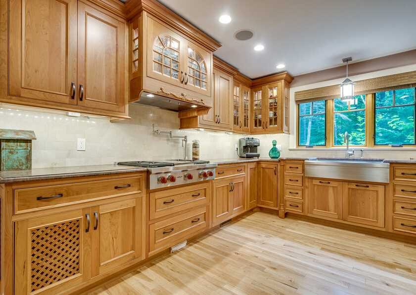 Kitchen cabinets china